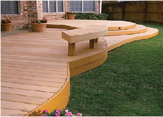 wodden deck